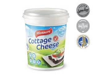 westacre lite cottage cheese 500g aldi australia