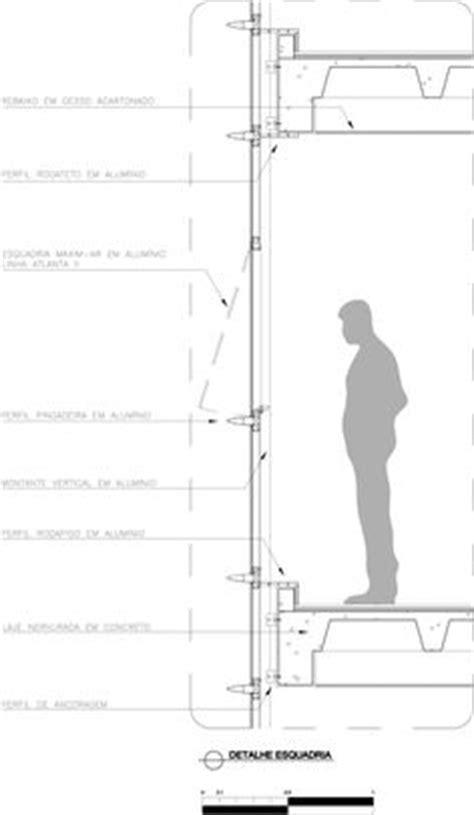 Detalhamento de Fachada em Pele de Vidro   Pele de vidro