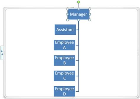 edit organizational chart powerpoint 2010