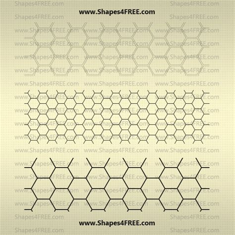 free pattern for photoshop cc transparent hexagon patterns by shapes4free on deviantart