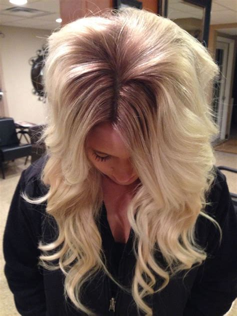 from platinum blonde to ombre ash blonde to platinum ombr 233 hair pinterest ash i