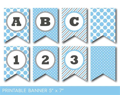 printable banner letters template blue birthday banner printable blue party banner banner