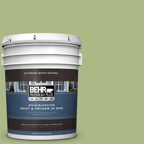 behr premium plus ultra exterior paint behr premium plus ultra 5 gal ppu10 7 lima green satin