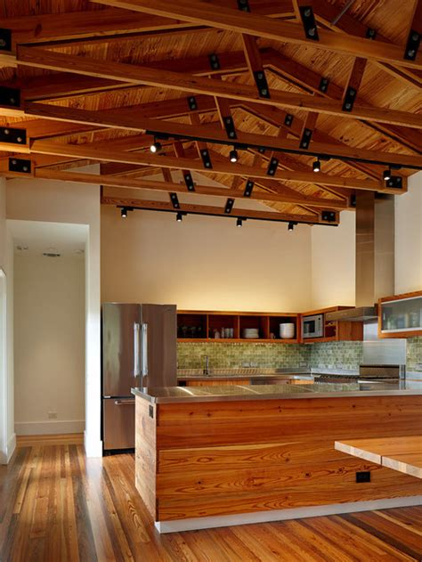 exposed wood trusses design ideas remodel pictures