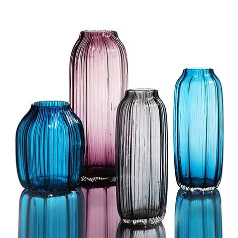 colored glass vases china glass vases on sale custom made blown glass