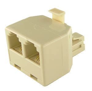 Splitter Rj 11 Adapter 1 3 Aktif telephone line splitter rj11 1 to 2