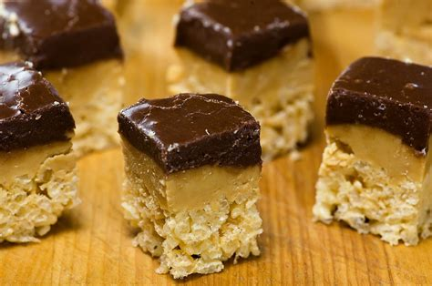 peanut butter treats chocolate peanut butter rice krispie treats my as a