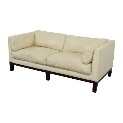 decoro leather couch 72 off decoro decoro off white leather sofa sofas