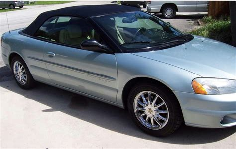2001 Chrysler Sebring Convertible For Sale by Chrysler Sebring 2001 Limited Convertible For Sale In