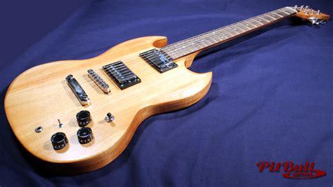 pit bull guitars sg 1l electric guitar kit left handed