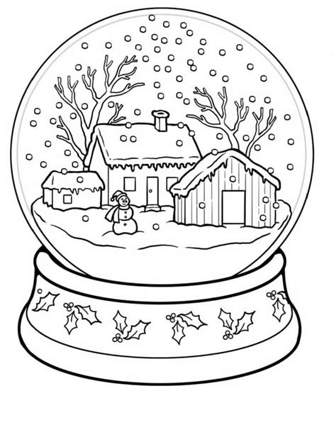 winter wonderland coloring pages coloring home free printable winter coloring pages