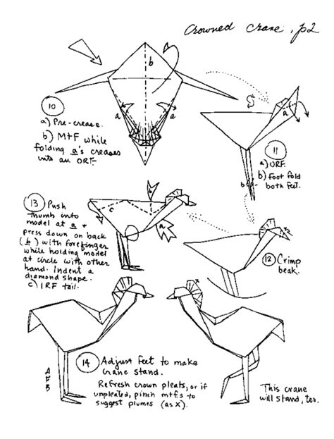 printable paper crane instructions free coloring pages origami paper crane 101 coloring pages
