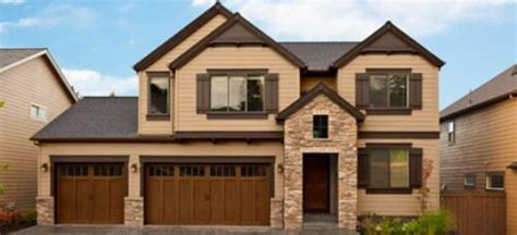 chocolate brown exterior paint schemes studio design gallery best design