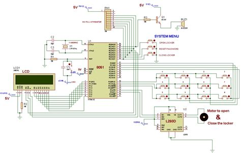 schematic diagram of electronic components electric circuit diagram of multimeter single chip icl7106