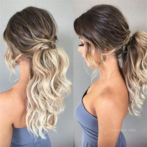 homecoming ponytail hairstyles best 25 ponytail updo ideas on pinterest pony tails