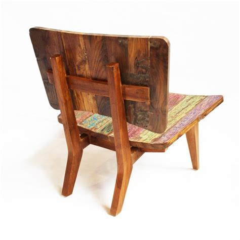 wooden boats for sale indonesia indonesian reclaimed boat wood chair chairish