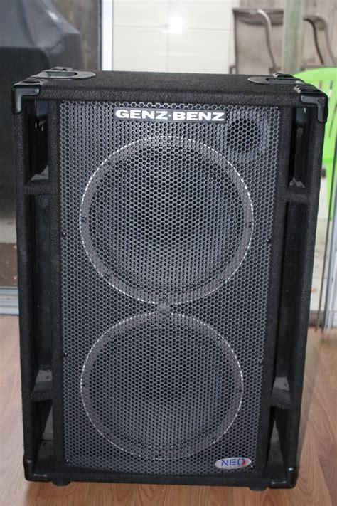 4 ohm bass cabinet sold genz benz neo x 212t bass cab 4 ohm neox talkbass com