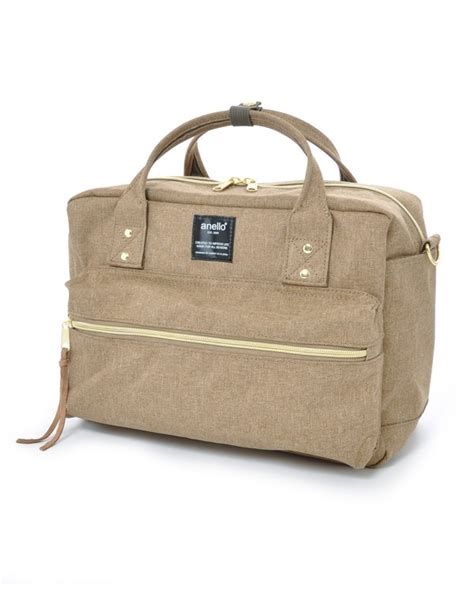Anello Camello Shopping Tote Cancas Vl90695 anello polyester canvas square 2 way shoulder bag regular size at c1224