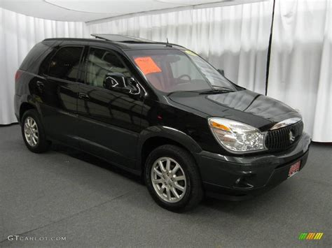 2006 buick rendezvous black 200 interior and exterior images