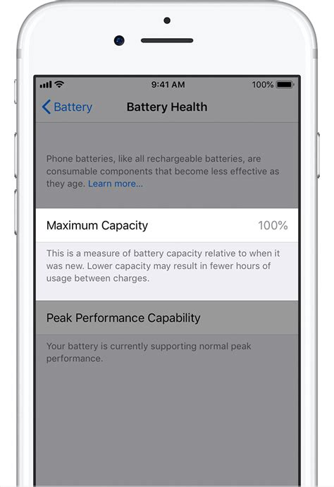 iphone battery  performance apple support