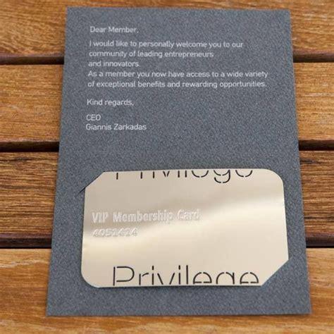 Privilege Card Template by Privilege Vip Membership Privilege Card