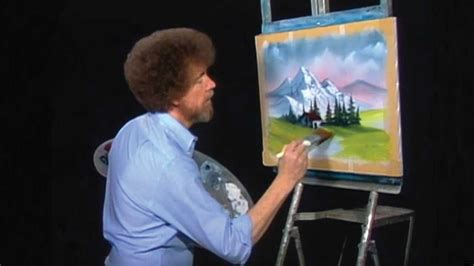 bob ross paintings on display bob ross painted thousands of pictures but this one had a
