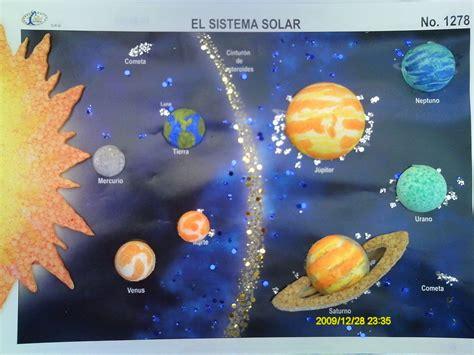fotos del sistema solar maquetas del sistema solar buscar con google hijos