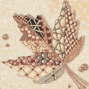 zentangle pattern quipple 19 best images about leaf zentangles on pinterest oak