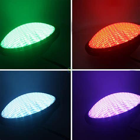 led farbwechsel led poolbeleuchtung rgb farbwechsel 105 leds par56