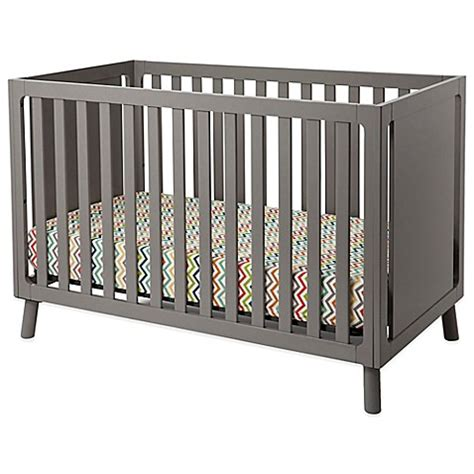 Delta Manhattan 3 In 1 Convertible Crib In Grey Bed Delta 3 In 1 Convertible Crib