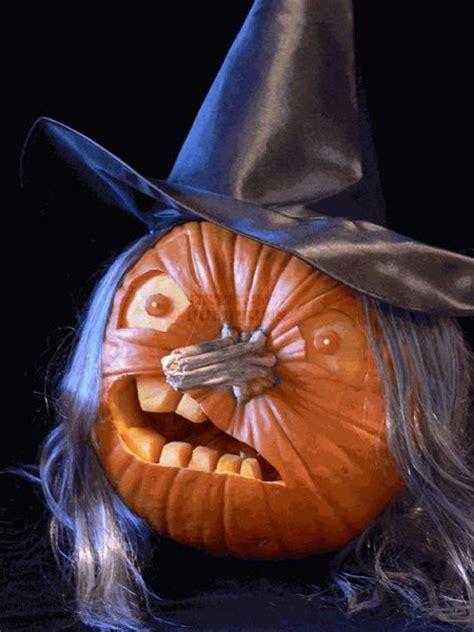 pumpkin carving food - Witch Pumpkin