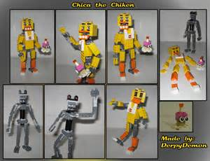 Lego moc chica the chicken from fnaf by derpydemon on deviantart