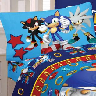 sonic the hedgehog twin sheet set speed racer sheet set from sears