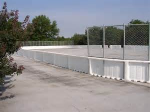 outdoor roller hockey rink
