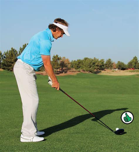 golf upright swing drive time golf tips magazine