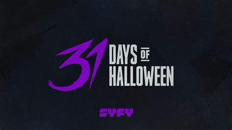 syfy announces  days  halloween lineup