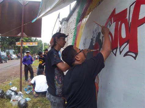 gambar lukisan mural  grafiti lukisan  anak anak