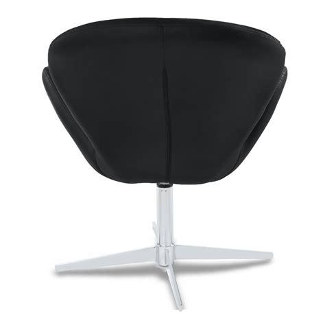 Swan Swivel Occasional Chair Zuri Furniture Swan Swivel Chair