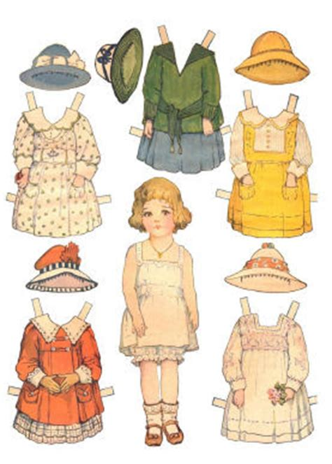 How Do You Make A Paper Doll - make a paper doll kit