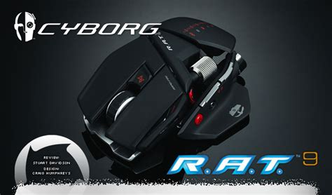 Mouse Gaming Cyborg 86 cyborg r a t 9 wireless gaming mouse review hardwareheaven comhardwareheaven