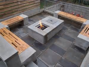 Concrete Patio Table And Benches Concrete Patio Table And Benches Home Design Ideas