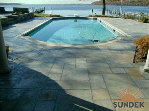 pool deck surrounds sundek concrete coatings