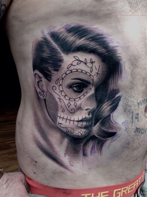 day of the dead girl tattoos day of the dead tattoos on day of the dead