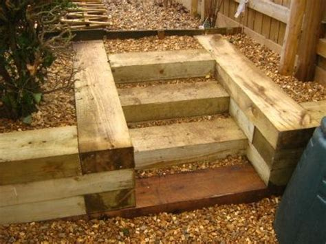 How To Build Steps With Railway Sleepers by Top Railway Sleepers