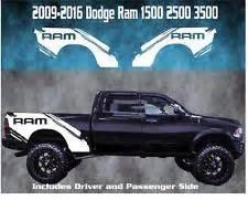Dodge Ram Decal Dodge Ram Bed Decals Ebay