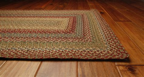 braided floor rugs azalea braided rug by green world homespice