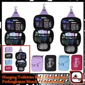 Tas Gantung Kamar Mandi Tas Makeup dengan hanging toiletries bag tas gantung perlengkapan