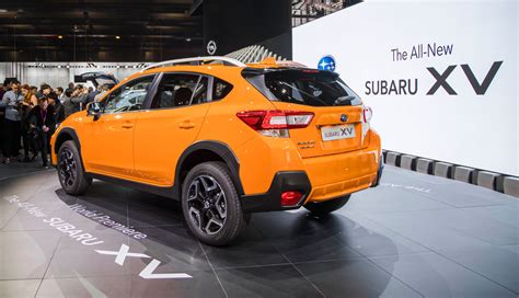 subaru orange crosstrek 2018 subaru crosstrek details crankshaft culture
