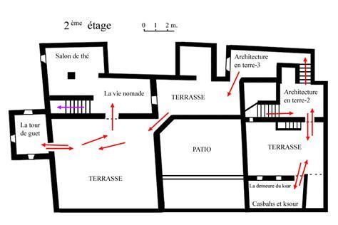 Plan 2 by Plan Du Mus 233 E Des Oasis 224 El Khorbat Maroc