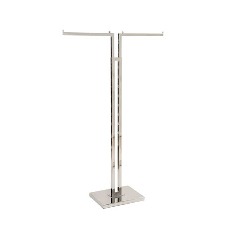 2 Way Clothing Rack by 2 Way Rack Kit With 2 Arms Chrome Shop For